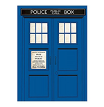 Doctor Who - Magnet Metal - Dr Who (tardis)
