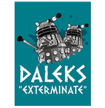 Doctor Who - Magnet Metal - Dr Who (dalek)