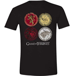 Game Of Thrones - House Crests (T-SHIRT Unisex )