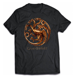 Game Of Thrones - Chrome Targaryen Sigil (T-SHIRT Unisex )