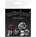 Set Spille Motorhead - Aces (Badge Pack)