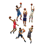 Set Action figure NBA 15 cm. (28 diversi modelli)