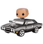 Action figure Fast and Furious POP! Dodge Charger & Dom 20 cm + veicolo