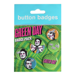Green Day - Uno Dos Tres (Badge Pack)