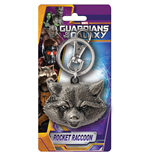 Guardians Of The Galaxy - Rocket Raccoon Pewter (Portachiavi)