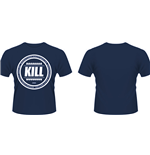 Kill Brand - Swag Logo Circle Blue (T-SHIRT Unisex )