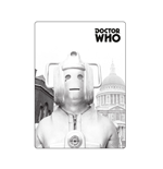 Doctor Who - Magnet Metal - Dr Who (greyscale Cyberman)
