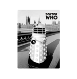 Doctor Who - Magnet Metal - Dr Who (greyscale Dalek)