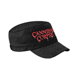Cannibal Corpse - Logo Army (Cappellino)