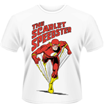 T-shirt Dc Comics - Flash - Dc Originals - The Scarlet Speedster