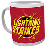 Dc Comics - Flash - Lightning Strikes (Tazza)
