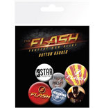 Dc Comics - Flash - Mix (Badge Pack)