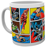 Dc Comics - Justice League Grid (Tazza)