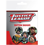 Dc Comics - Justice League - League (Badge Pack)