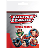 Dc Comics - Justice League - Group (Badge Pack)
