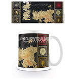 Tazza Game Of Thrones - Map
