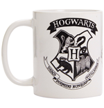 Harry Potter - Hogwarts Crest Black (Tazza)