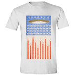 Independance Day - Flag White (T-SHIRT Unisex )
