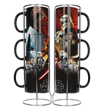 Set Tazze Star Wars Episode VII Black First Order Exclusive