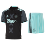 Kit Ajax 2016-2017 Adidas Away da bambino