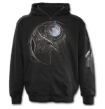 Spiral – Wolf Dreams - Full Zip Black (felpa Unisex )