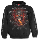 Spiral – Fire Dragon - Black (felpa Unisex )
