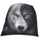 Spiral - Wolf Chi Light Cotton Beanies Black (berretto )