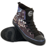 Spiral – Game Over Sneakers - MEN'S High Top Laceup M42-8 (scarpe Uomo )