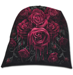 Spiral - Blood Rose Light Cotton Beanies Black (berretto )