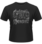 Avengers - Age Of Ultron - Team Art (T-SHIRT Unisex )