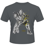 Avengers - Age Of Ultron - Iron Man Splash (T-SHIRT Unisex )