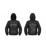Fall Out Boy - Skeleton (felpa Cappuccio Unisex )