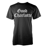 Good Charlotte - White Puff Logo (T-SHIRT Unisex )