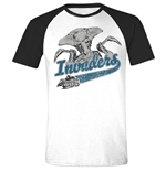 Independence Day - Invaders Grey MELANGE/BLACK (T-SHIRT Unisex )