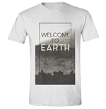 Independence Day - Welcome To Earth White (T-SHIRT Unisex )