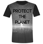 Independence Day - Protect The Planet Black (T-SHIRT Unisex )