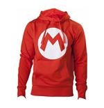 Nintendo - Red With M Logo In Front (felpa Unisex )