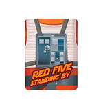 Star Wars - Red Five (Magnete Metallo)