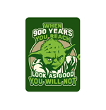 Star Wars - When 900 Years (Magnete Metallo)
