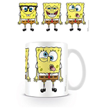 Tazza Spongebob - Faces