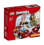 Lego 10721 - Juniors - Marvel Super Heroes - Iron Man Contro Loki