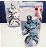 Captain America Colour Change Glass (Bicchiere Termosensibile)