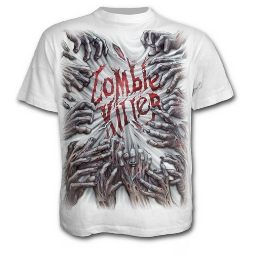 Zombie Killer - T-SHIRT White