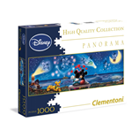 Puzzle 1000 Pz - Disney Panorama Collection - Topolino E Minnie