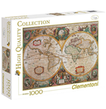 Puzzle 1000 Pz - High Quality Collection - Mappa Antica