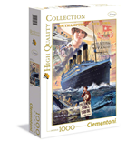 Puzzle 1000 Pz - High Quality Collection - Titanic