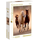 Puzzle 1000 Pz - High Quality Collection - Running Horses