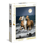 Puzzle 1500 Pz - High Quality Collection - Cavalli In Corsa