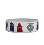 Doctor Who - Icons (Braccialetto Gomma)