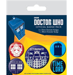 Doctor Who - Exterminate (Pin Badge Pack)
